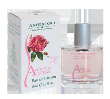 Eau de parfum Armonia Rosa Amerigo Cosmetici