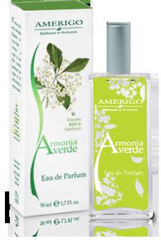 Eau de Parfum Armonia Verde Amerigo Cosmesi