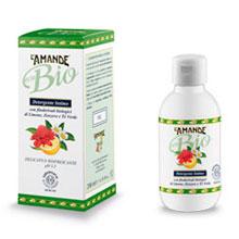 Detergente intimo con estratti glicerici bio di limone, te verde e zenzero
