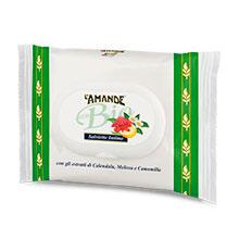 Salviette intime con estratti glicerici bio di limone, te verde e zenzero