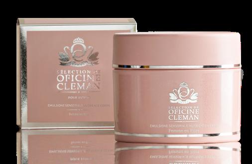 Emulsione Nutriente Corpo Femme en Rose Oficine Cleman