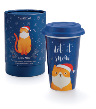 "Winter Animals Tazza Thermos ""Otto"" Neavita"