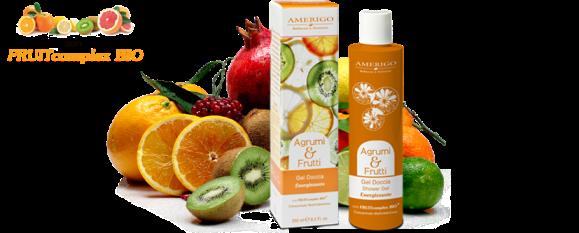 Gel Doccia Energizzante Agrumi e Frutti Amerigo