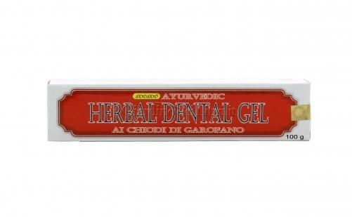 Dentifricio Herbal Dental Gel Ayurvedic Ai Chiodi Di Garofano