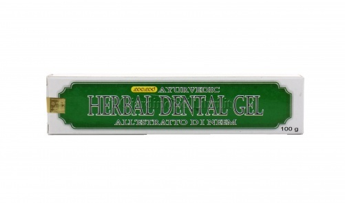 Dentifricio Herbal Dental Gel  Ayurvedic Al Neem