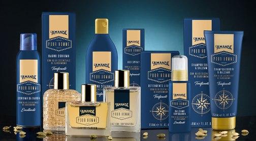 Shampoo Doccia & Balsamo Tonificante Homme L'Amande
