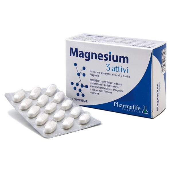 Magnesium 3 attivi Pharmalife