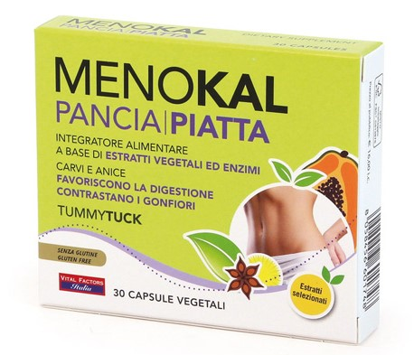 MenoKal Pancia Piatta 30 Cps Farmaderbe