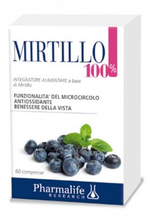 Mirtillo 100% 60 compresse Pharmalife