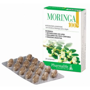 Moringa 100% 60 Compresse Pharmalife