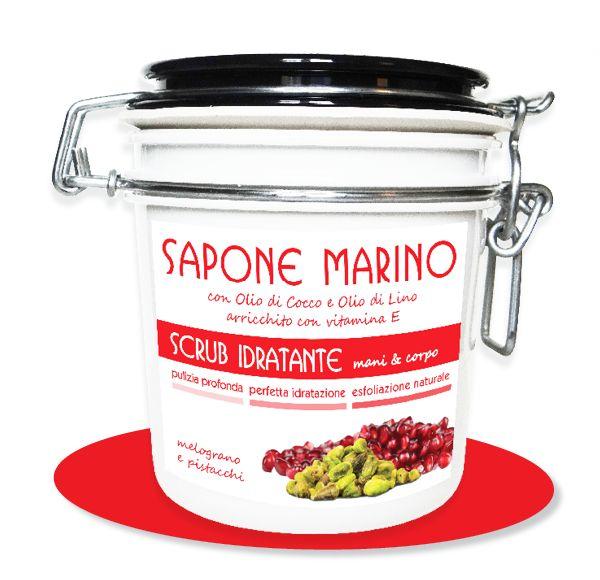 Sapone Marino Pistacchi e Melagrano