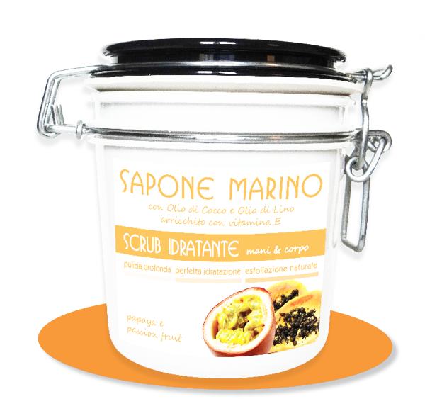 Sapone Marino Papaya e Passion Fruit