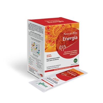 Natura Mix Energia bustine monodose orosolubili Aboca