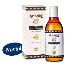 Olio Naturale Dermo Nutriente alla Calendula L