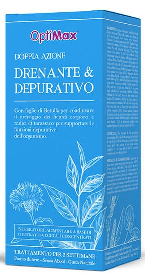 Optimax-Drenante e Depurativo 500ml Optima Naturals