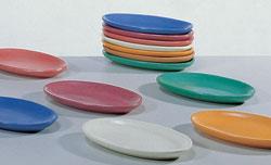 Piattino terracotta ovale