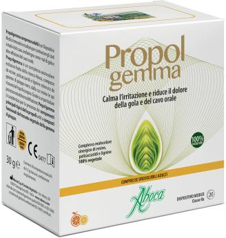 Propolgemma - Compresse orosolubili adulti Aboca
