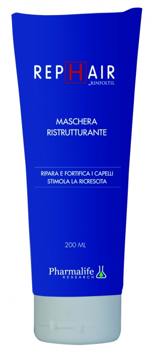Rephair Maschera Ristrutturante Anticaduta 200ml Pharmalife