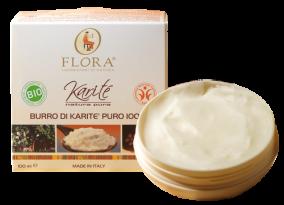 Burro di Karite Puro 100% Bio Flora Pisa