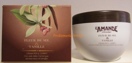 Crema Corpo Fleur de Sel & Vanille L'Amande