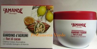 Crema Corpo Giardino di Agrumi & Fiori di Cacao  L'Amande