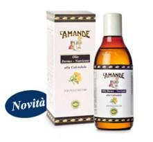 Olio Naturale Dermo Nutriente alla Calendula L'Amande