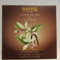 Sapone profumato Fleur de Sel & Vanille L'Amande