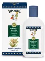 Shampoo Crema con estratto di Equiseto e Capsico L'Amande