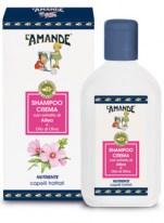 Shampoo Crema con estratto di Altea e Olio di Oliva L'Amande
