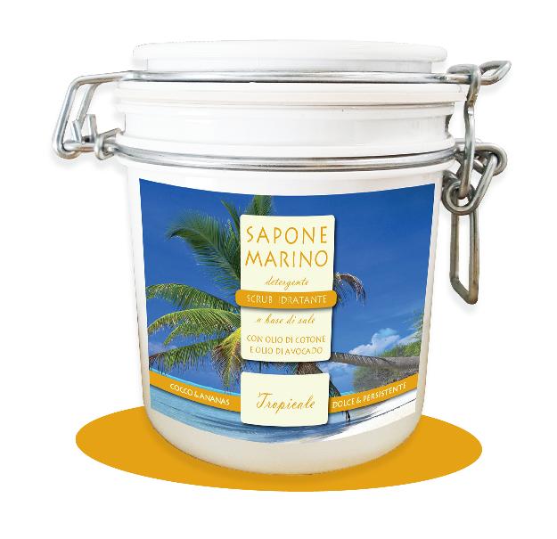 Sapone marino tropicale cocco e ananas prodotti per il bagno - Prodotti per il bagno ...