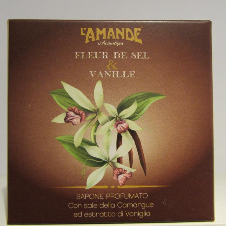 Sapone profumato Fleur de Sel & Vanille L