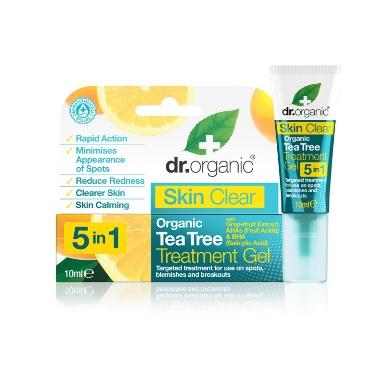 Gel Anti Imperfezioni Viso Skin Clear Dr.Organic