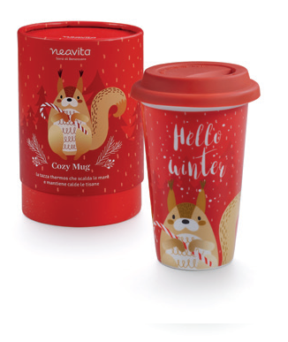 Winter Animals Tazza Thermos