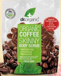 Organic Coffe Body Scrub Dr.Organic