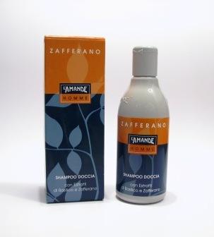 Shampoo Doccia agli estratti di Basilico e Zafferano L