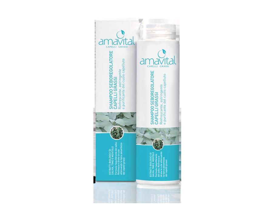 Shampoo Seboregolatore Capelli Grassi Oficine Cleman