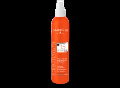 Spray Solare Protettivo Viso Corpo Spf 15 Amerigo