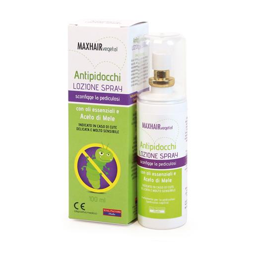 Spray AntiPidocchi Max Hair Veg.Vital Factors Italia