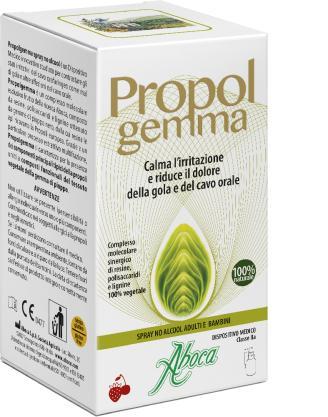 Propolgemma - Spray No alcool adulti a bambini Aboca