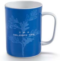 Mug Tea Lovers Blu Neavita